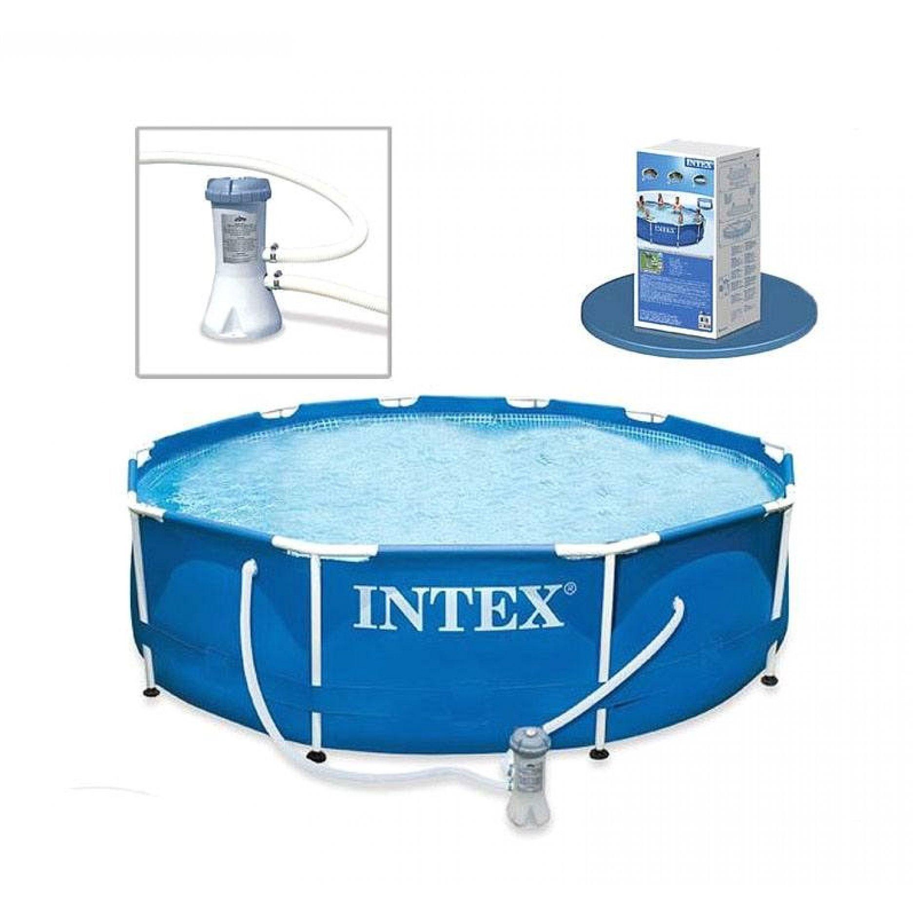 Каркасный бассейн INTEX Metal Frame 3,05 х 0,76 (м), 4485(л)