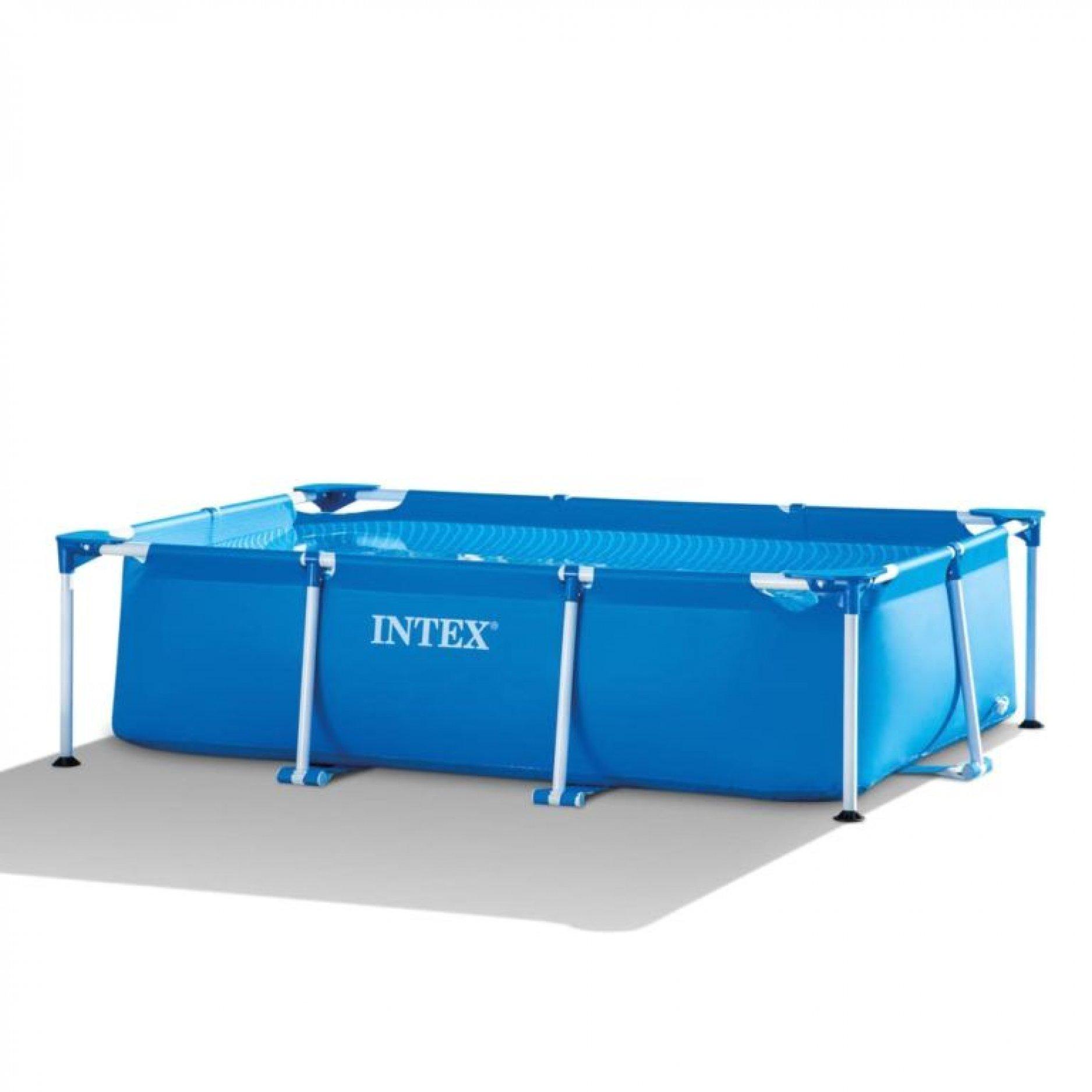 Каркасный бассейн INTEX Rectangular Frame 260х160х65см, 2282л