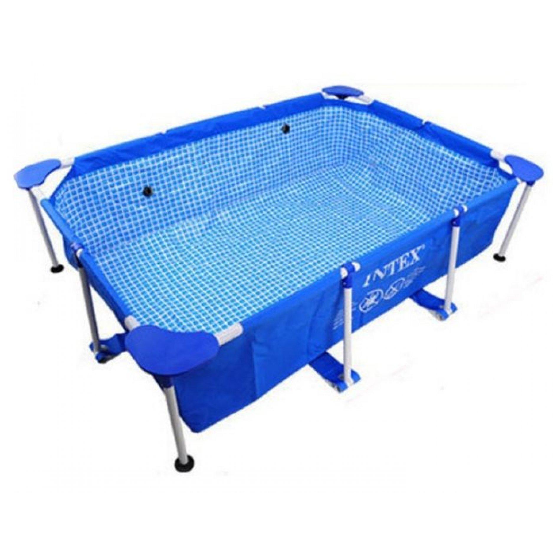 Каркасный бассейн INTEX Rectangular Frame 300х200х75см, 3834л