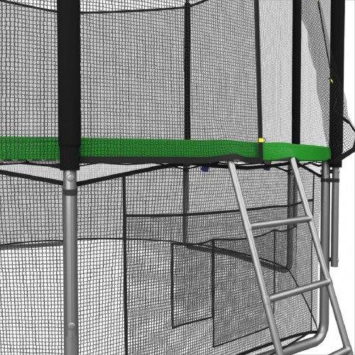 Батут UNIX line 14 ft с наружной сеткой (зеленый)