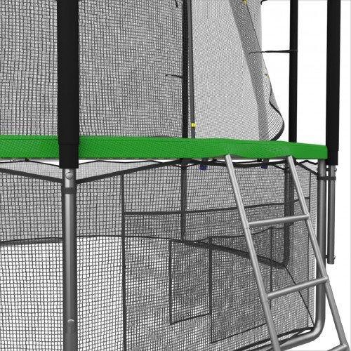 Батут UNIX line 10 ft с внутренней сеткой (зеленый)