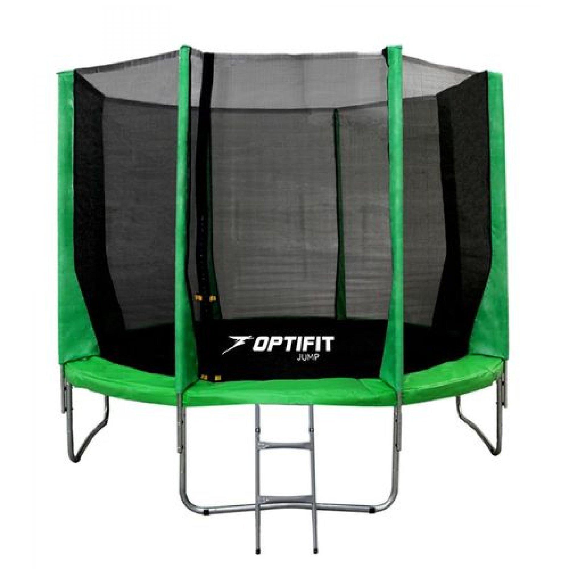 Батут OPTIFIT JUMP 16FT зеленый
