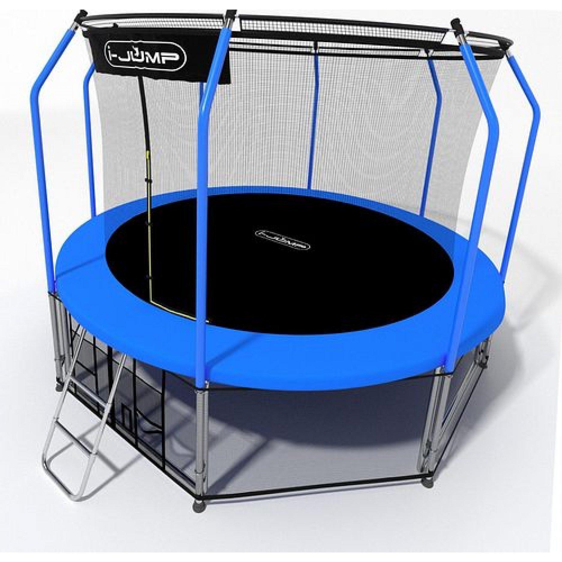 Батут I-Jump Elegant 10FT Blue