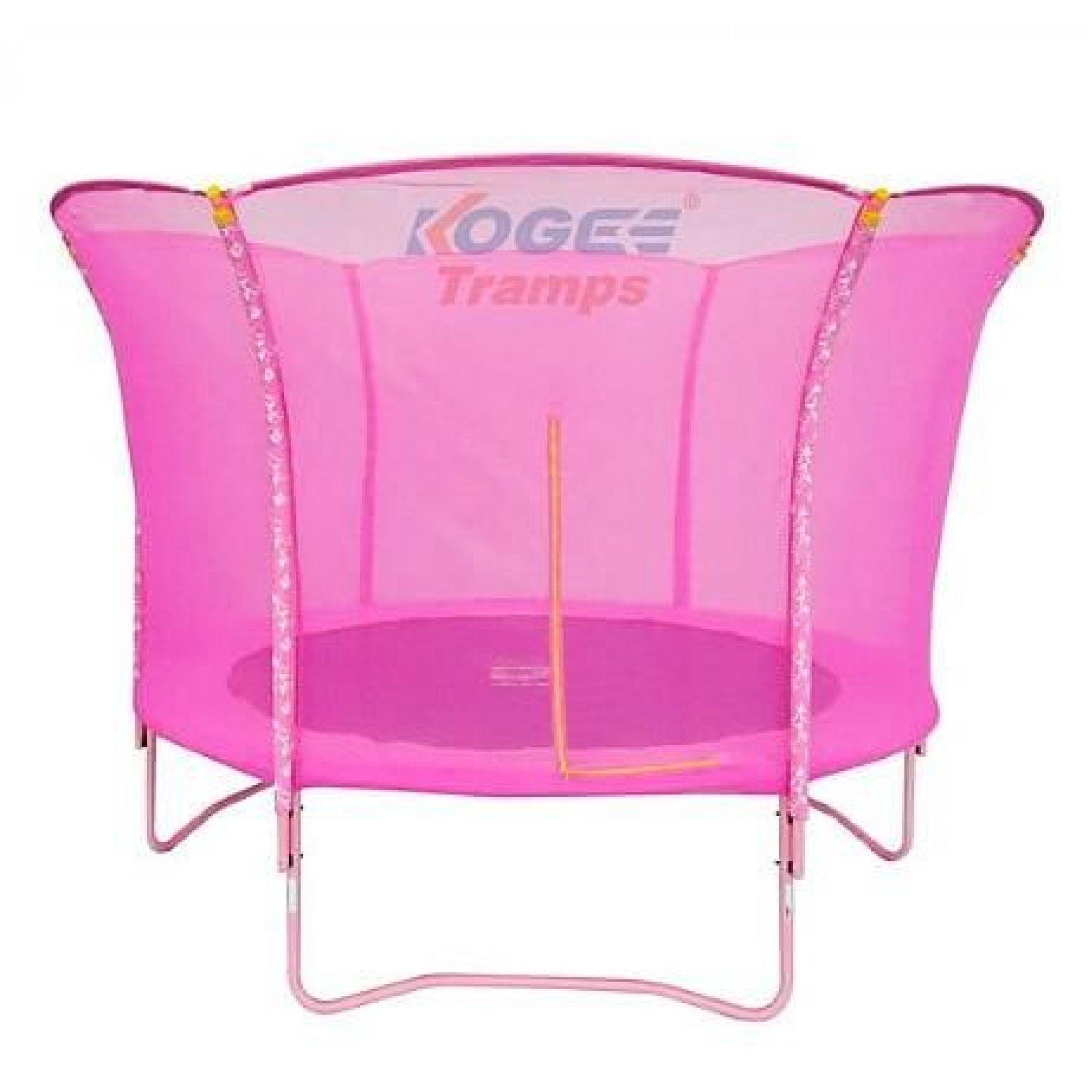 Батут Kogee-Tramps Lily розовый – 3,0 м