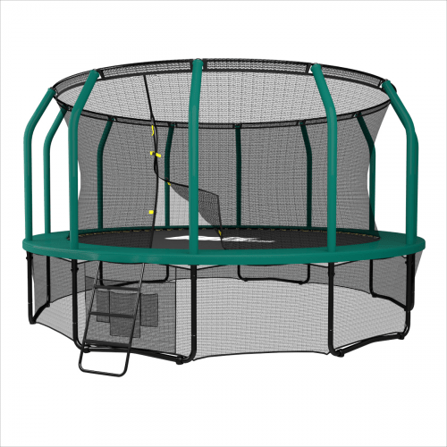Батут UNIX line SUPREME GAME 14 ft (green)