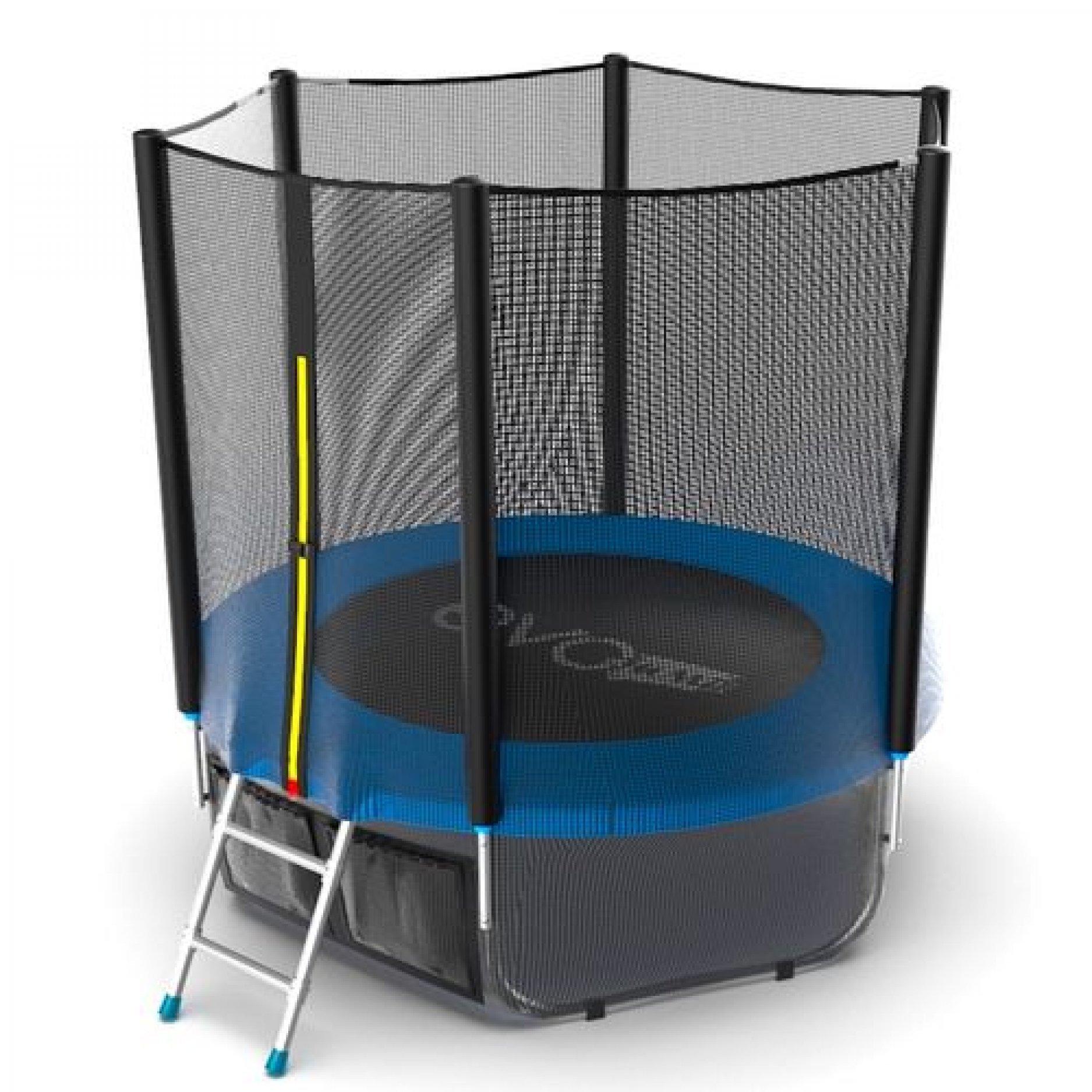 EVO Jump External 6ft (Blue) + Lower net с внешней сеткой и лестницей