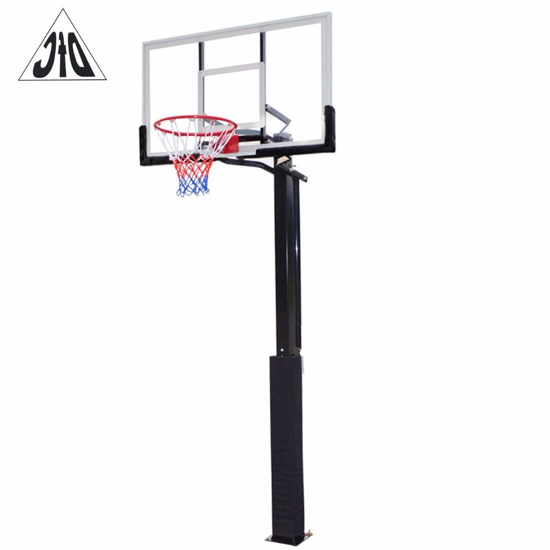 "Стационарная баскетбольная стойка 56"" DFC ING56A"