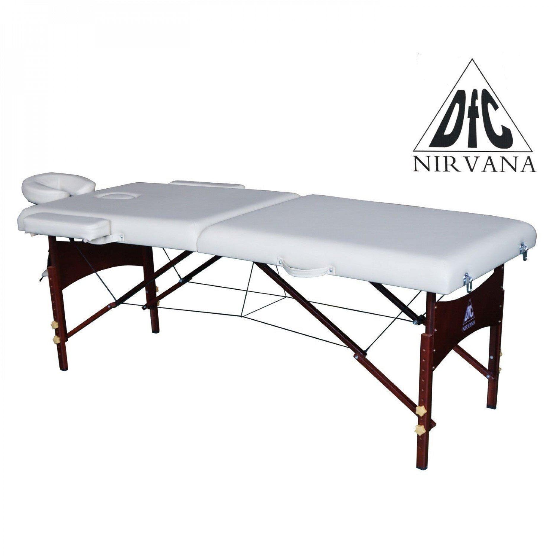 Массажный стол DFC NIRVANA Relax (бежевый)
