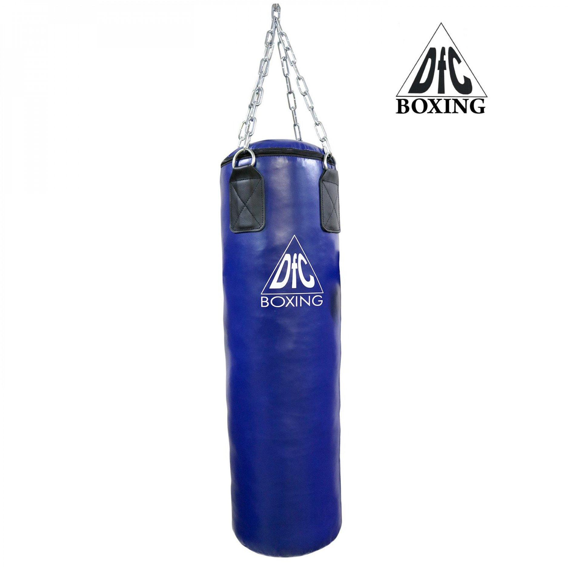 Боксёрский мешок DFC HBPV3.1 синий 120 х 30