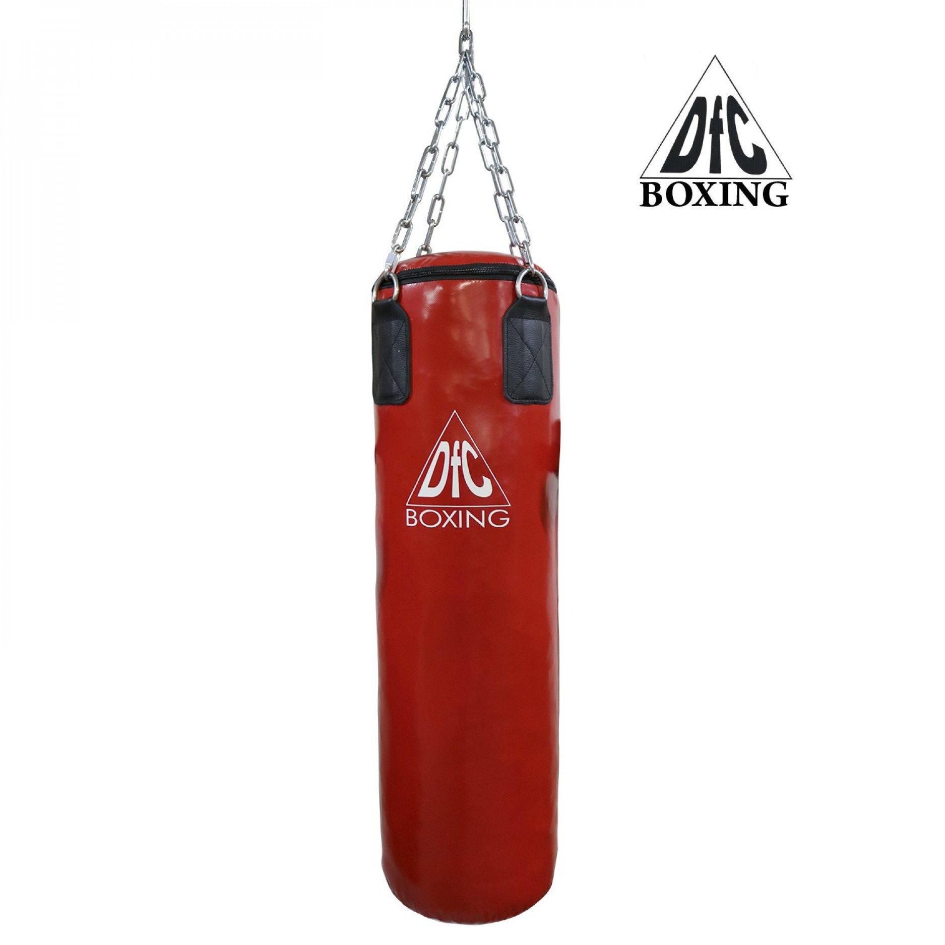 Боксёрский мешок DFC HBPV5.1 красный 150 х 30