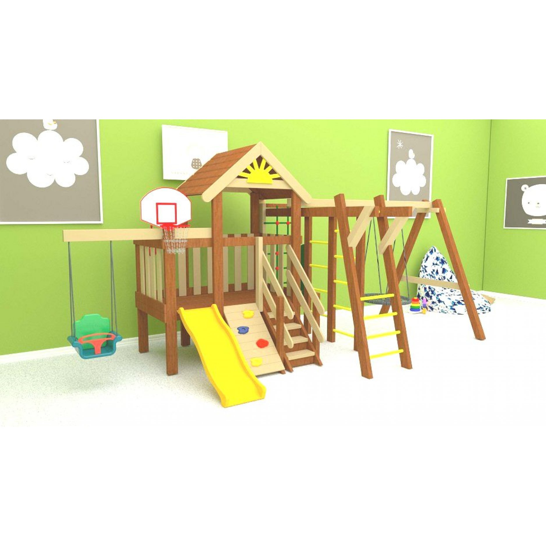 Детская площадка Baby Mark 5