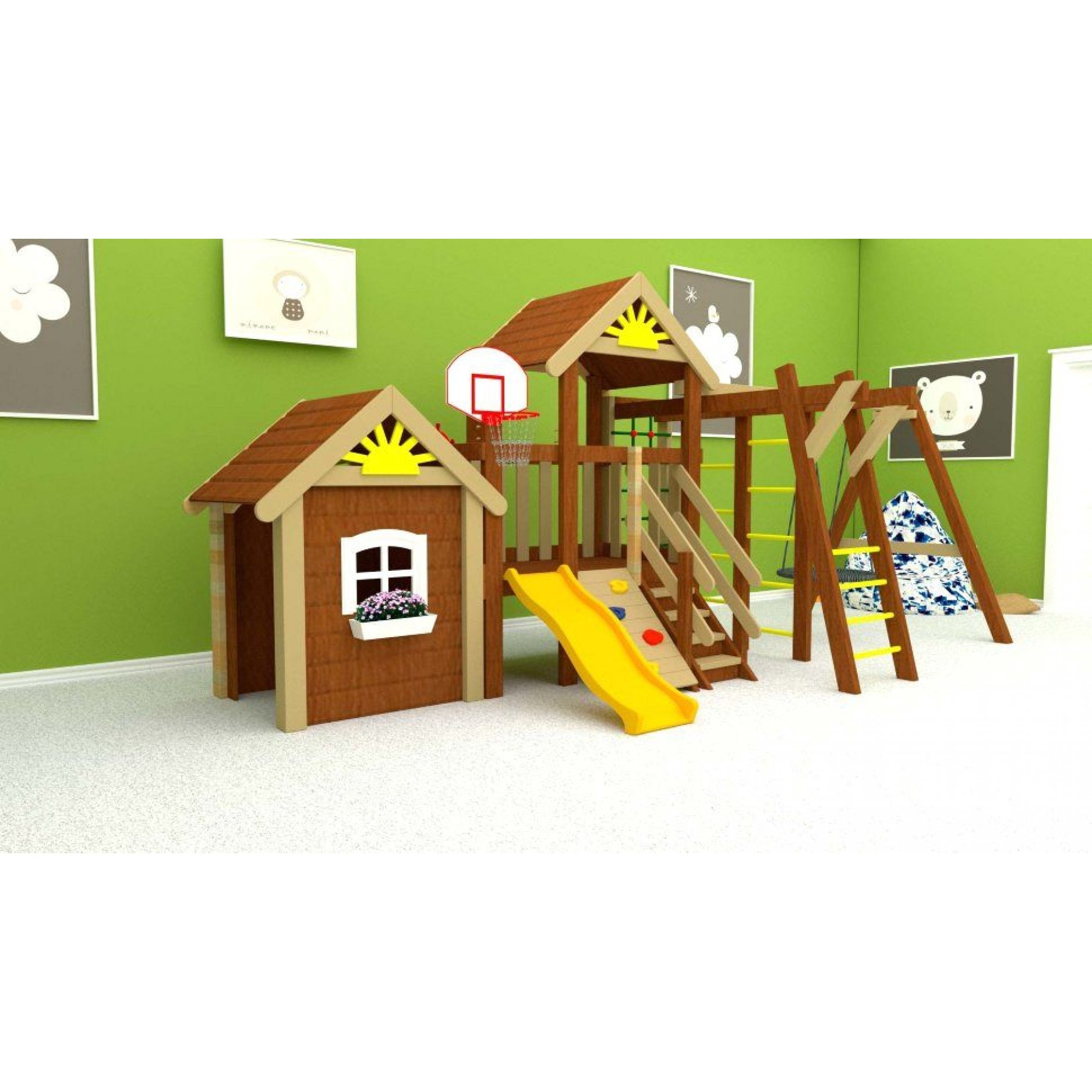 Детская площадка Baby Mark 6