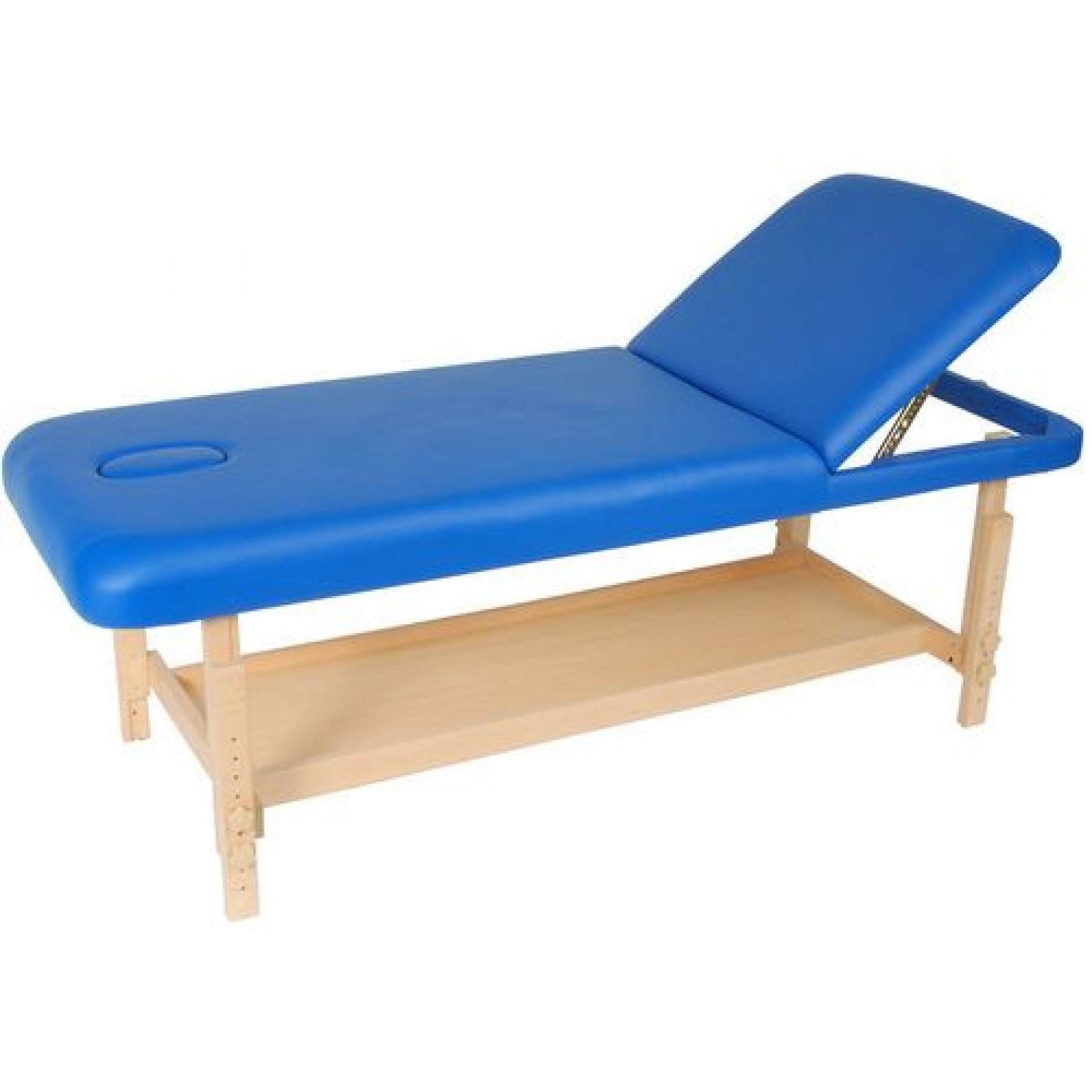 Массажный стол Medmos FIX-1A синий