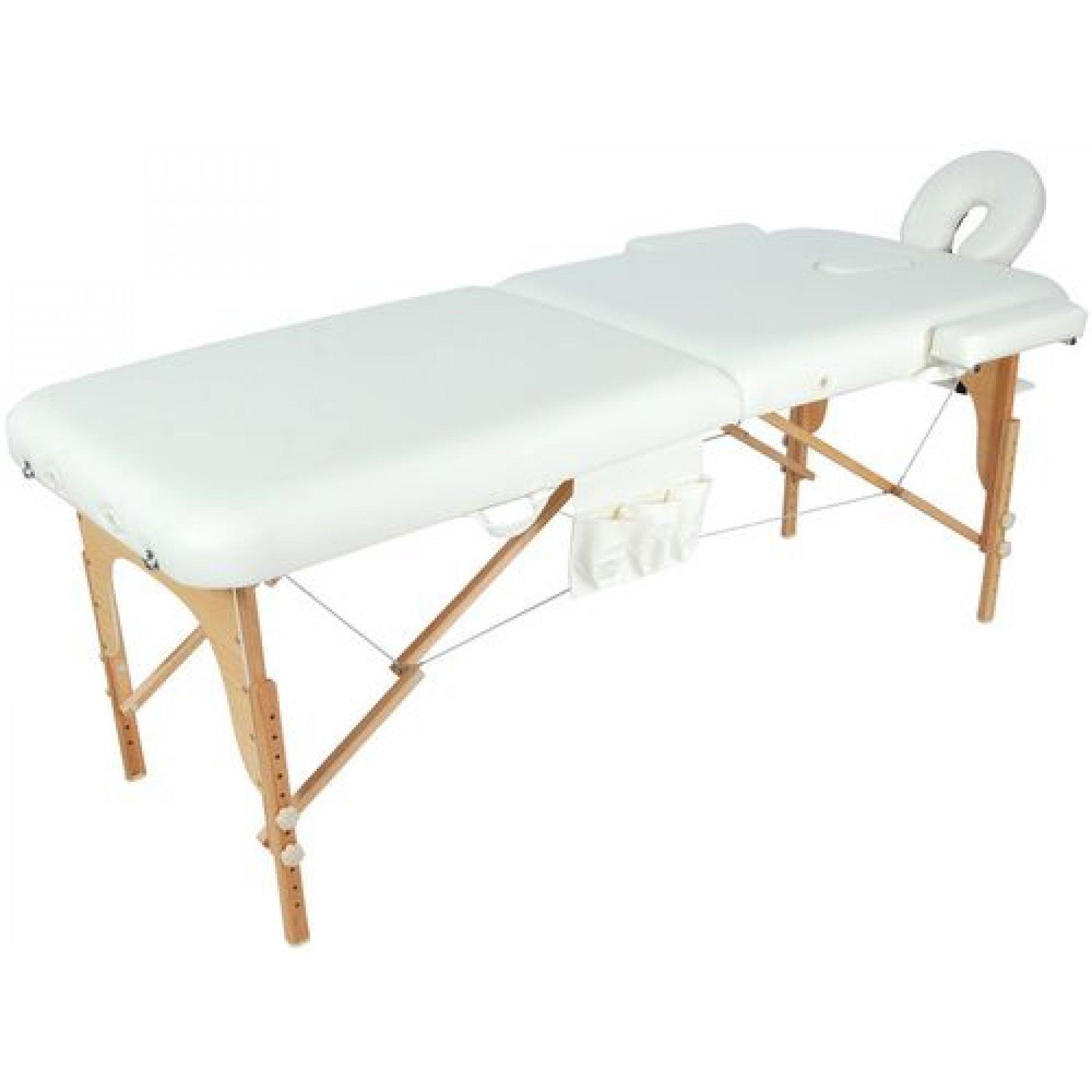 Массажный стол Medmos JF-AY01 2-х секционный (МСТ-003Л)