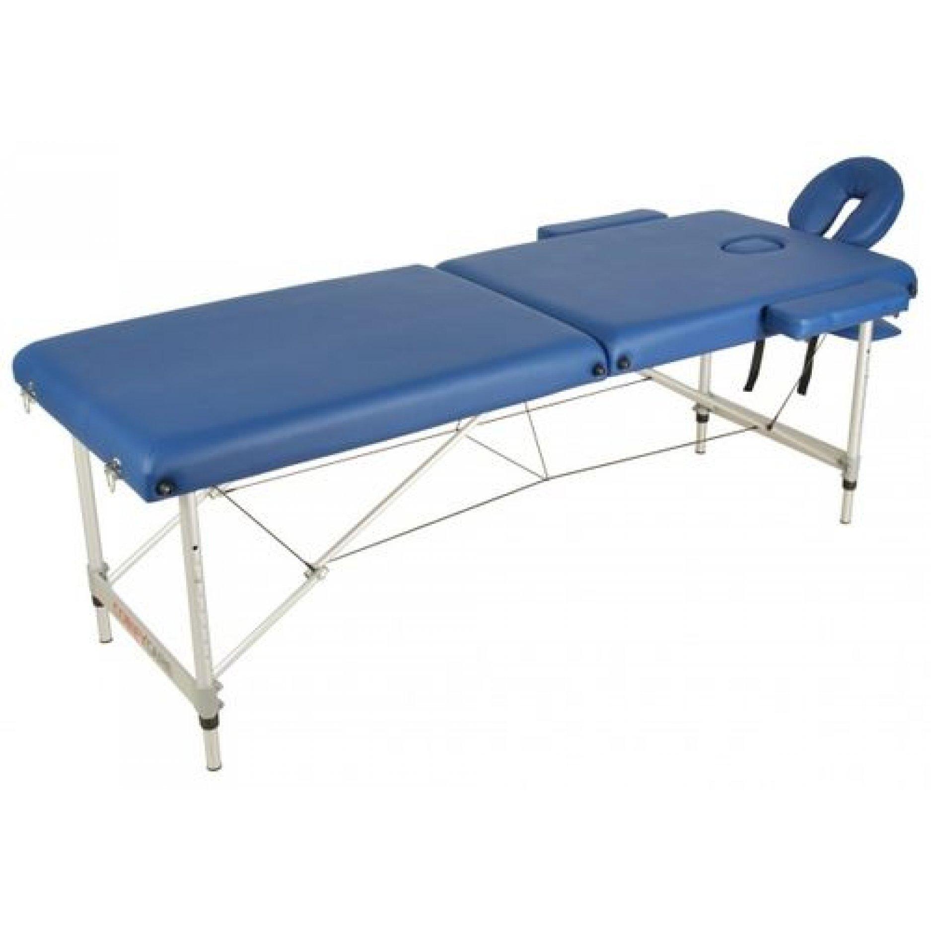 Массажный стол Medmos JFAL-02 синий