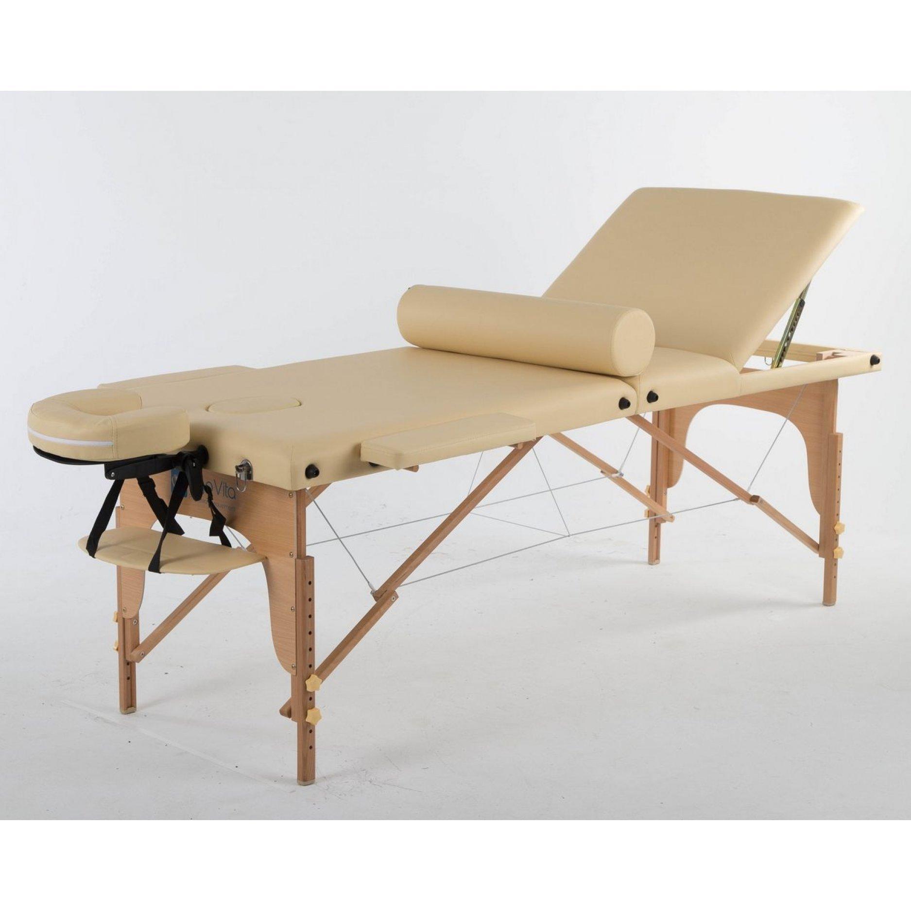 Складной массажный стол ErgoVita Classic Comfort Plus бежевый