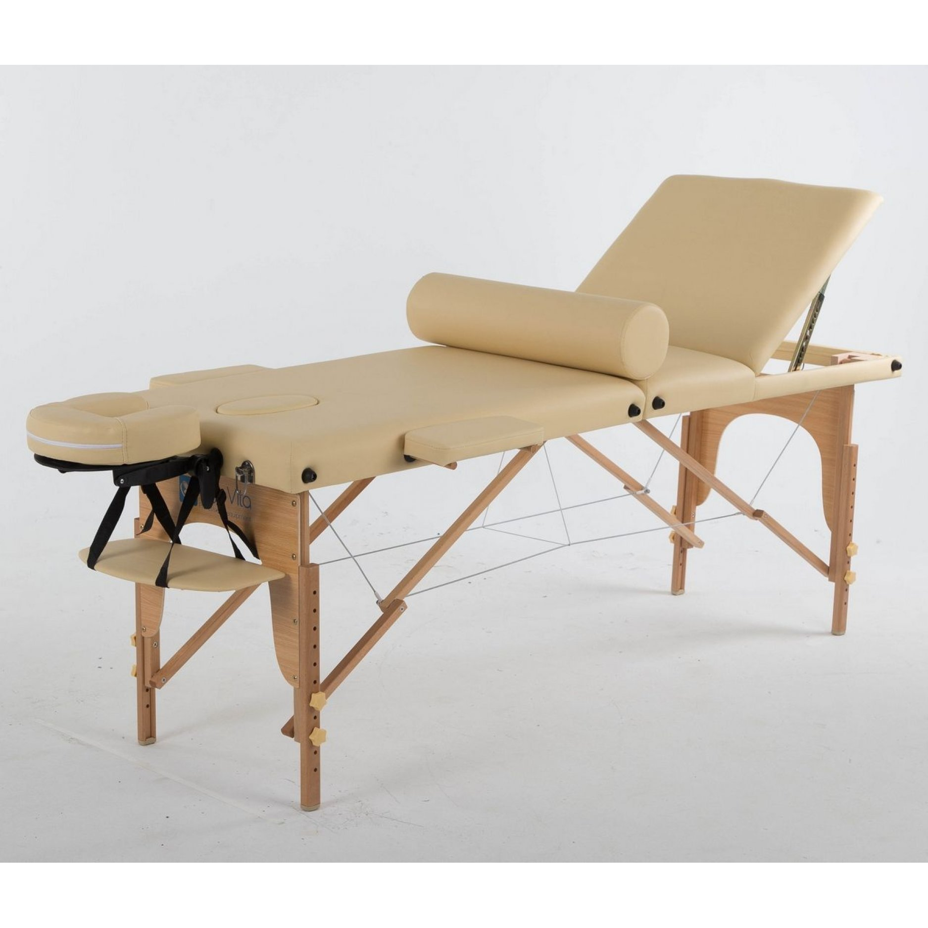 Складной массажный стол ErgoVita Classic Plus бежевый