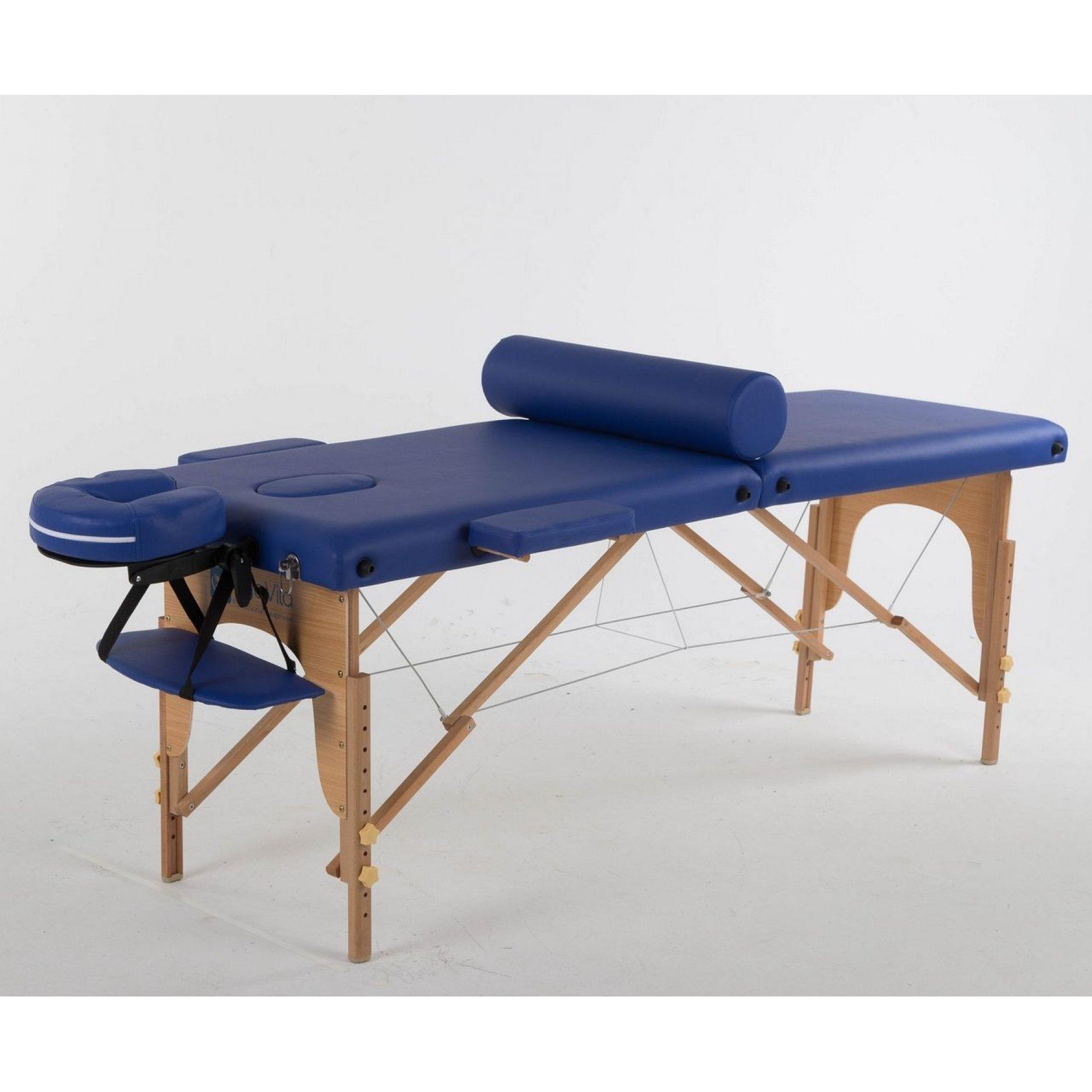 Складной массажный стол ErgoVita Classic синий
