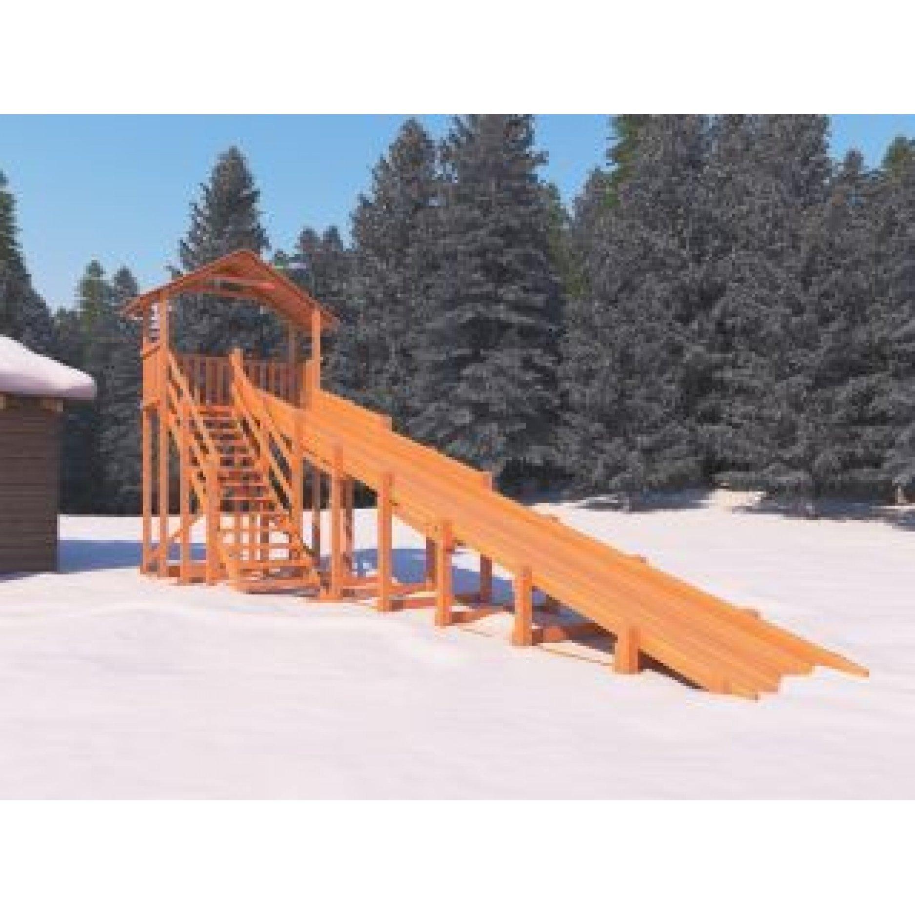 Snow Fox ( Домик) скат 10 метров