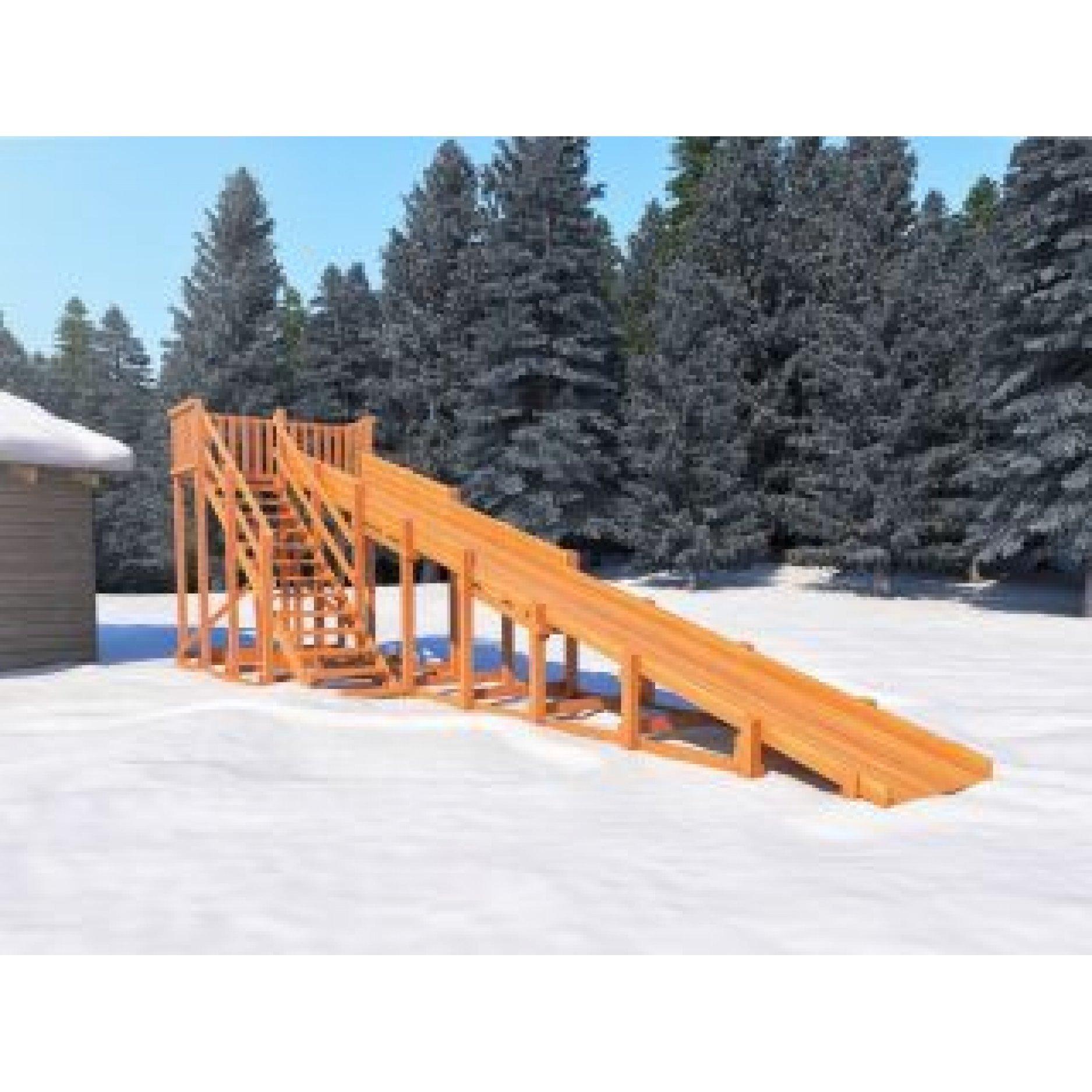 Snow Fox скат 10 метров