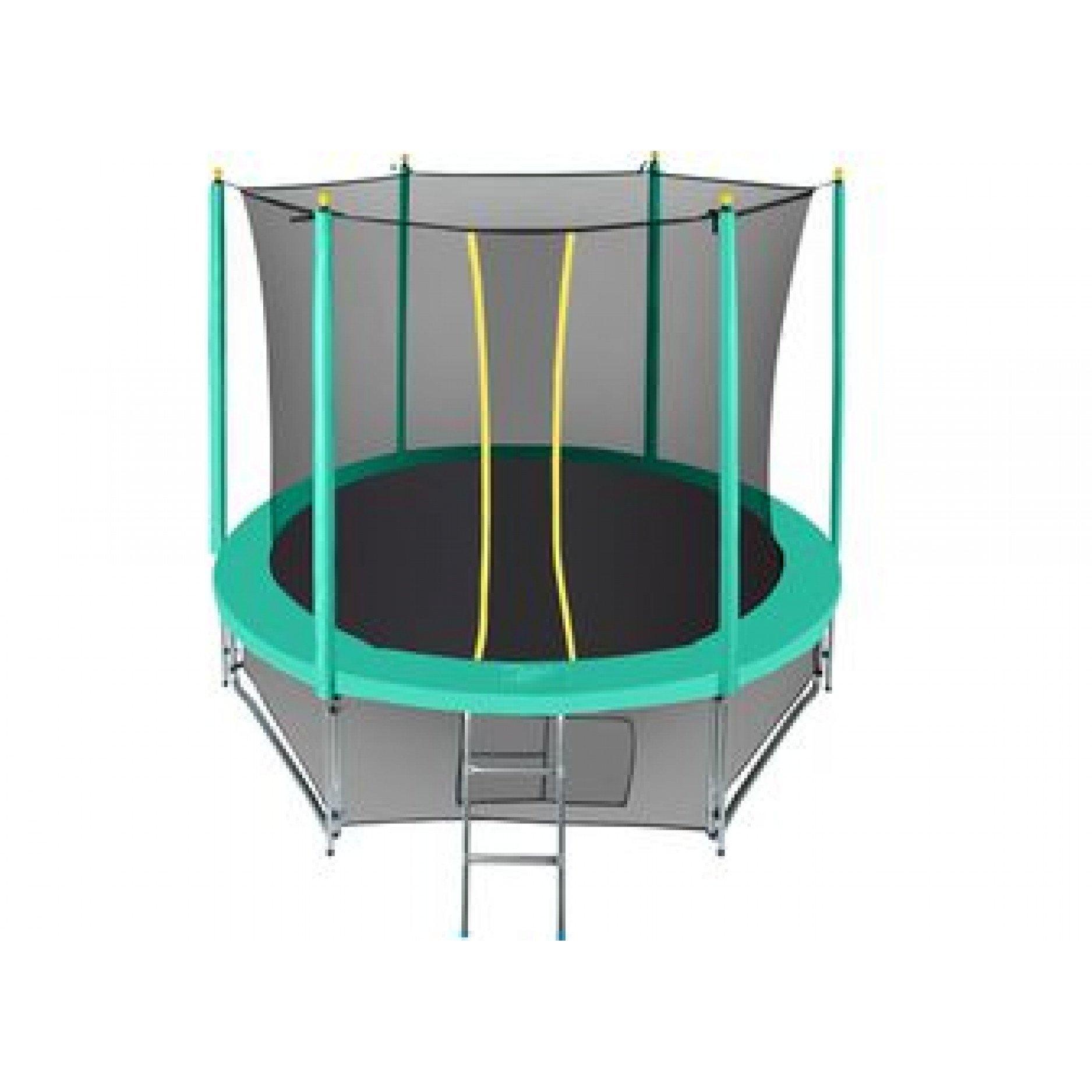 Батут Hasttings Classic green 8ft (2.44 м) с внутренней сеткой