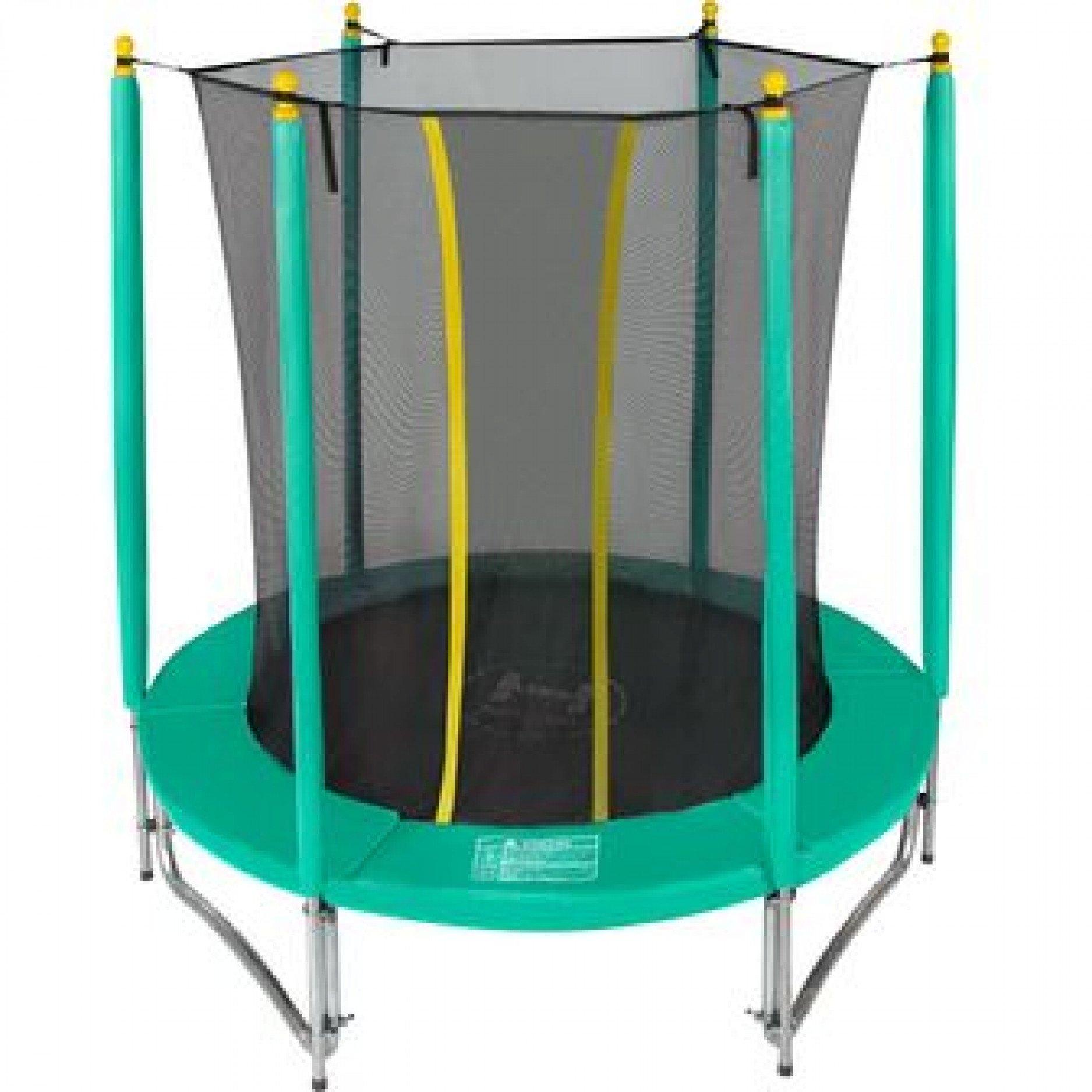 Батут Hasttings Classic green 6ft (1.82 м) с внутренней сеткой