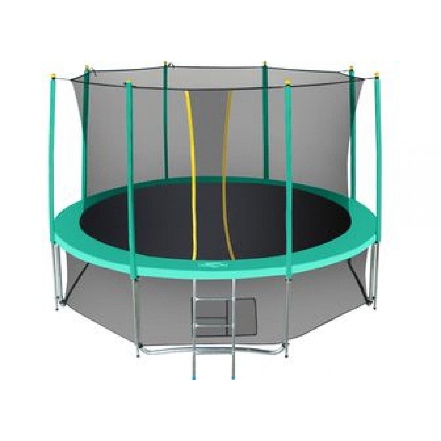 Батут Hasttings Classic green 14ft (4.26 м) с внутренней сеткой