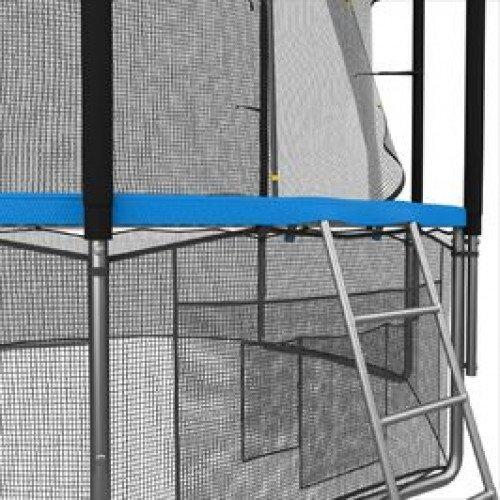 Батут UNIX line 6 ft с внутренней сеткой (синий)