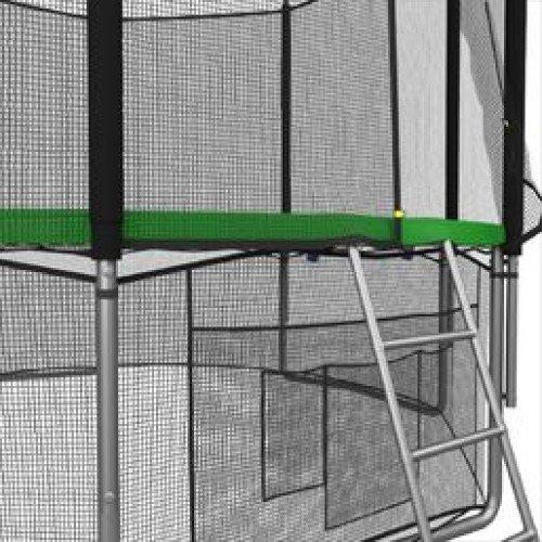 Батут UNIX line 6 ft с наружной сеткой (зеленый)