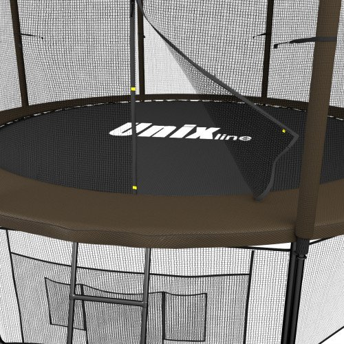 Батут UNIX line 12ft (366 см) Black&Brown (inside)