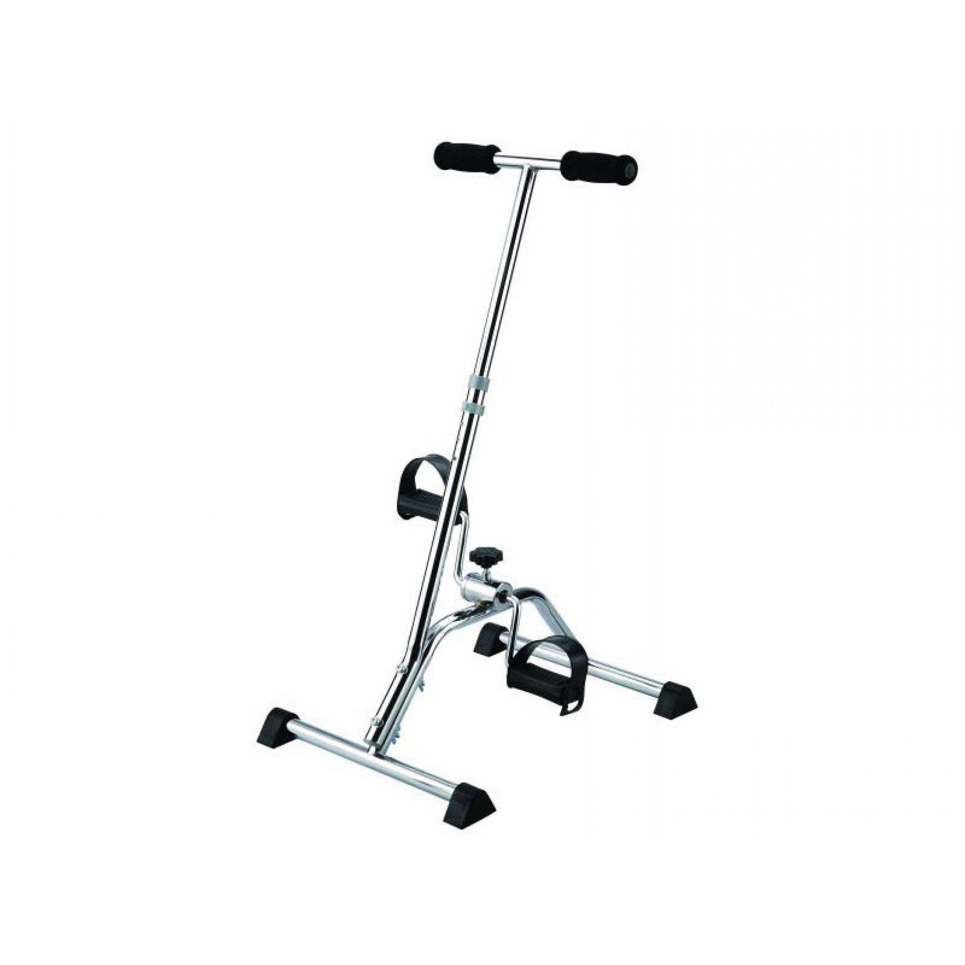 """Складной велотренажер (простой педальный тренажер) Titan """"MINI-BIKE"""" c рукояткой LY-901-A"""