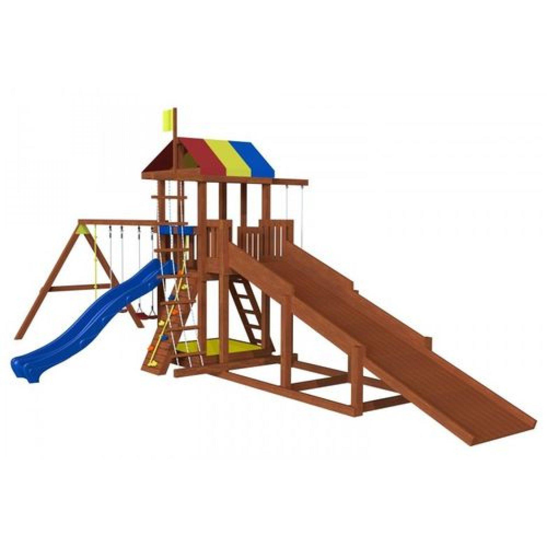 Всесезонная детская площадка Джунгли